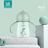 儿童吸管杯水杯幼儿园宝宝学饮杯婴儿防漏防呛6-18个月喝水