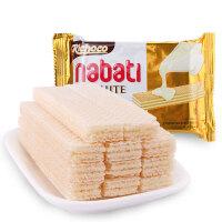 印尼进口 丽巧克纳宝帝香草牛奶味威化饼干 58g*20