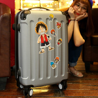 行李箱男拉杆箱女旅行箱密码箱皮箱万向轮20寸24寸28韩版学生箱子