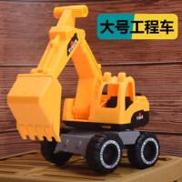 儿童挖掘机惯性工程车挖土小汽车男孩子模型耐摔翻斗车2玩具3-6岁