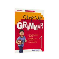 【首页抢券300-100】Scholastic Step Up Grammar 1 美国学乐英语阶梯语法1年级 小学英语