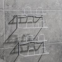 浴室拖鞋架卫生间壁挂墙上置物架厕所门后鞋挂免打孔拖鞋挂架鞋架