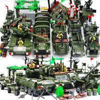 儿童拼装玩具男孩子10岁12legao积木6我的7军事8