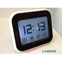 学生办公用 触屏静音计时器提醒器 带夜光闹钟时钟 番茄计时器