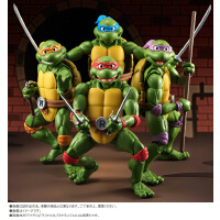SHF 忍者神龟 莱昂纳多 多纳泰罗 拉斐尔 米开朗琪罗 手办
