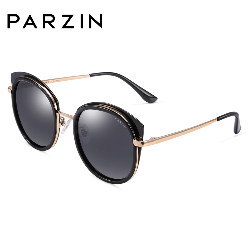 帕森2018新品 个性猫眼太阳镜女 时尚偏光镜驾驶镜墨镜女9920