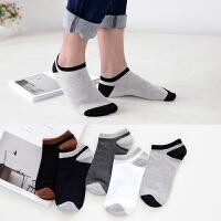 男士袜子纯棉吸汗春秋款短袜薄款全棉短筒运动低帮男袜 满2套送2双棉袜 收藏先发