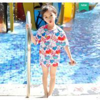 儿童泳衣女游泳衣运动分体套装宝宝泳衣可爱女童泳衣小中大童