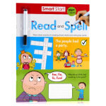刷刷笔可重复擦写Smart Start Wipe-Clean Workbook Read and Spell 阅读和拼