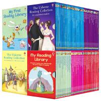 【首页抢券300-100】Usborne 我的一二三四个图书馆套装 My First Reading Library 全