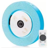送光碟 易创第八代壁挂CD音响:支持播放CD碟 U盘 SD卡 蓝色/粉色