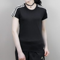 adidas阿迪达斯2018女子ESS 3S SLIM TEE圆领短T恤CF8832