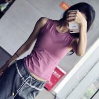 运动背心女修身长款显瘦速干衣瑜伽跑步罩衫无袖健身上衣