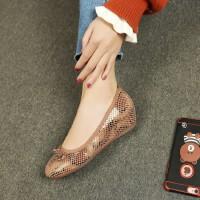 O'SHELL欧希尔新品011-A10-7030休闲坡跟女士单鞋