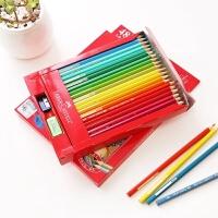 辉柏嘉24/36/48/60色经典油性彩色铅笔绘画涂色美术用 含笔削橡皮