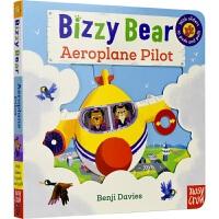 Bizzy Bear - Aeroplane Pilot 小熊好忙系列 飞行员 互动机关操作玩具书 故事绘本 亲子读物