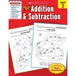 【预订】Scholastic Success with Addition & Subtraction, Grade 3