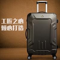行李箱男28寸韩版万向轮密码箱24寸学生个性拉杆箱青年皮箱潮