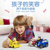 汪汪队立大功(PAW PATROL) 儿童玩具车套装狗狗巡逻队益智玩具正版玩具男童仿真玩具模型