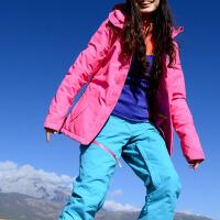 户外新款时尚滑雪服滑雪衣棉衣保暖透气防风女式