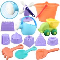 儿童沙滩玩具套装玩沙子挖沙铲子宝宝决明子戏水玩具
