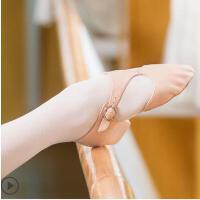 真皮舞蹈鞋女软底练功鞋成人芭蕾舞鞋形体鞋带跟教师鞋
