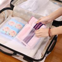 旅行收纳袋旅游衣服整理防水密封袋衣物分装透明行李箱收纳包