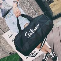 短途旅行包女男手提韩版潮出差旅游大容量运动健身包轻便小行李袋运动包 中