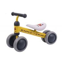 儿童助力平衡车 滑滑车滑行助力学步车宝宝平衡车四轮溜溜车1-3岁童车扭扭车HW