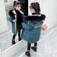 女童棉衣童�b洋��和�冬�b外套大童羽�q潮