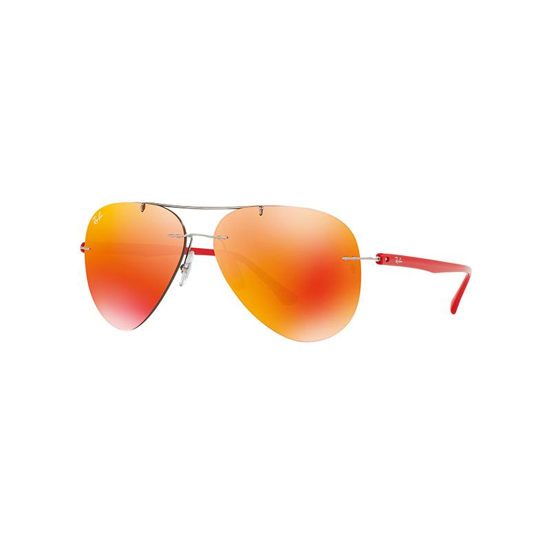 【网易考拉】Ray·Ban 雷朋 非偏光太阳眼镜男女款个性经典蛤蟆镜 RB8058 镜片尺寸59mm(请注意:收货人姓名号码必须真实且对应,否则订单会被取消)