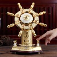 舵手 航海舵 欧式摆件工艺品船舵 办公室摆件公司礼品实用送客户