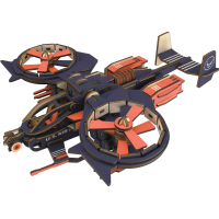 拼图立体3D模型大儿童战斗机飞机手工组装拼插积木制玩具