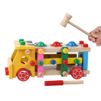 儿童益智拆装玩具螺母拼装组合拧螺丝拆卸组装宝宝早教3-6岁周岁