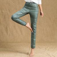 秋冬新款羽绒裤户外女便携轻薄保暖大码加厚新品保暖裤