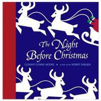 NIGHT BEFORE CHRISTMAS圣诞前夜 英文儿童立体书