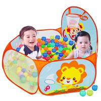 儿童海洋球宝宝投篮球池彩色波波球塑料洗澡玩具