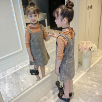 儿童春季套装2018新款韩版洋气连衣裙两件套小女孩潮