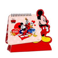 日历2020年定制创意学生卡通台历迪士尼鼠米奇创意立体吸塑计划本台历桌面diy月历记事本简约可爱小清新摆件
