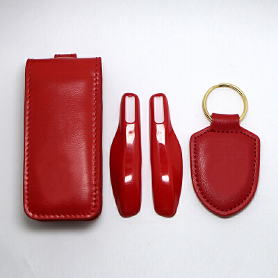 钥匙包套装扣卡宴帕拉金属漆梅拉保时捷改装汽车钥匙包钥匙保护宝骏改装驾驶证红色 一般在付款后3-90天左右发货,具体发货时间请以与客服协商的时间为准