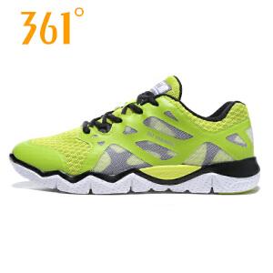 【每满100减50】361度男鞋 运动鞋2017新款361网鞋透气网面跑步鞋