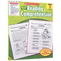 正版 美国小学三年级英语阅读理解练习册 英文原版 scholastic Success with Reading co