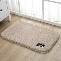 浴室吸水防滑脚垫加厚绒面进门垫子卫浴卫生间门口地垫卧室床边毯