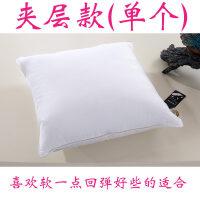 鹅毛羽绒抱枕芯床头大靠垫芯沙发靠背办公室靠枕内胆方枕芯