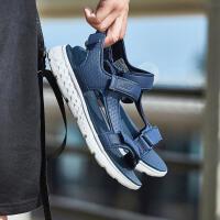 Skechers斯凯奇男凉鞋2018新款ON THE GO轻便魔术贴沙滩鞋54265