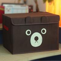 牛津布内衣物收纳箱装衣服书本整理箱储物箱子收纳盒有盖折叠大号