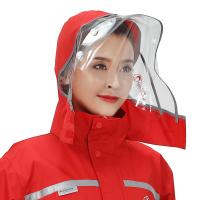 摩托电动车加厚风分体雨衣男女单人雨衣雨裤套装