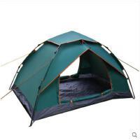 野外帐篷大气加厚防雨野外露营自驾游全自动帐篷户外3-4人家庭双人2人