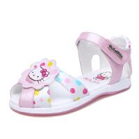 Hello Kitty童鞋夏季新款儿童沙滩鞋公主包头凉鞋