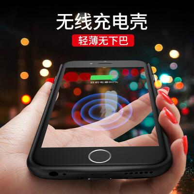 iphone6背夹式充电宝苹果7plus电池6s8P手机壳无线冲便携6sp大容量夹背六七八快充m 『领劵立减20元』大容量 轻薄无下巴